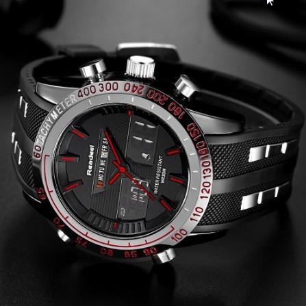 【未使用】高級ブランド腕時計 男性用スポーツ腕時計 防水 LED デジタルクォーツメンズミリタリー腕時計 時計男性レロジオ_画像2