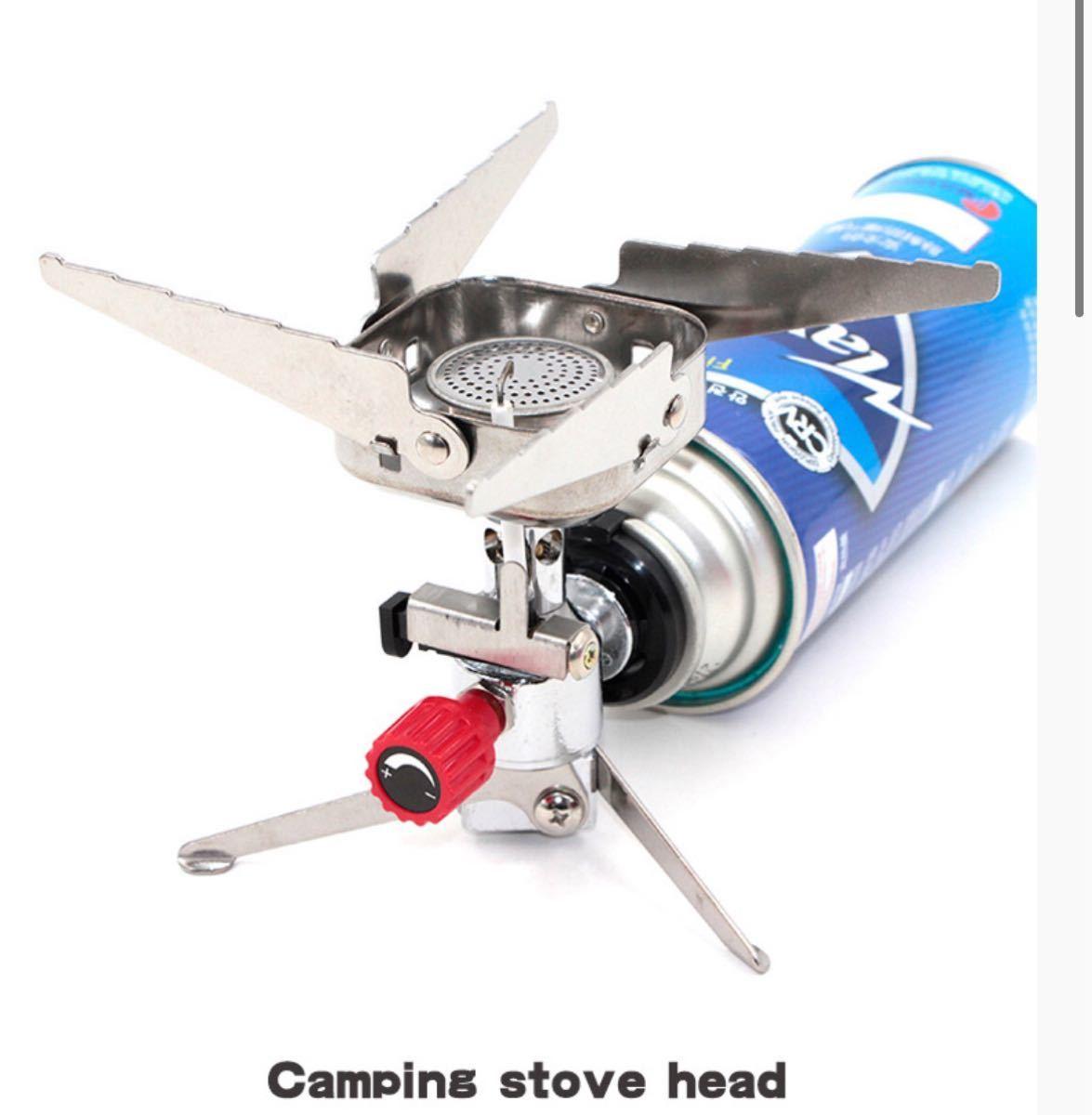 CB缶対応 シングルバーナー コンパクトバーナー ガスバーナー ガスコンロ 3000kw