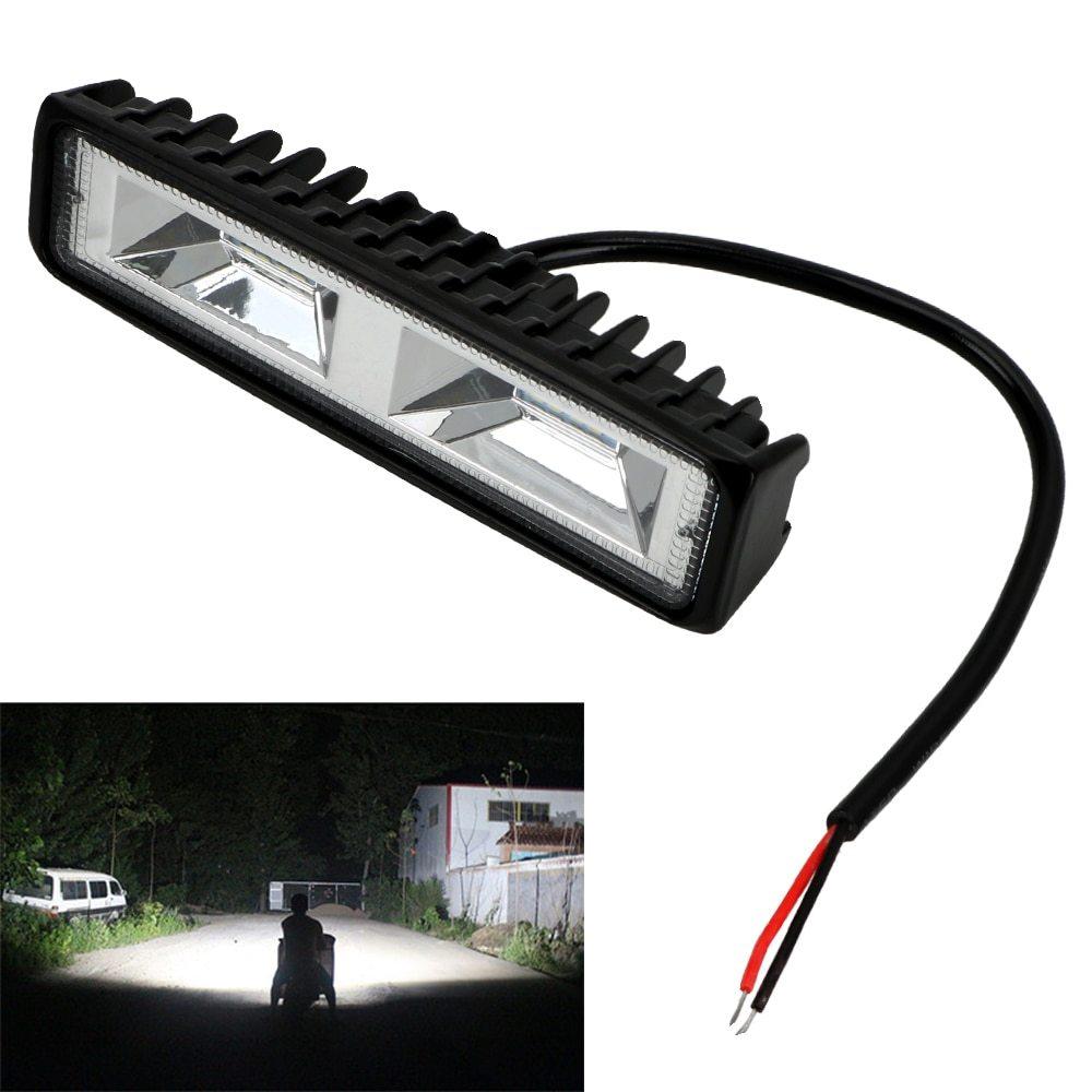 車 バイク トラック トラクター トレーラー オフロード 作業灯 36W スポット ライト 1個 LED ヘッドライト 12-24V 便利 アクセサリー_画像1