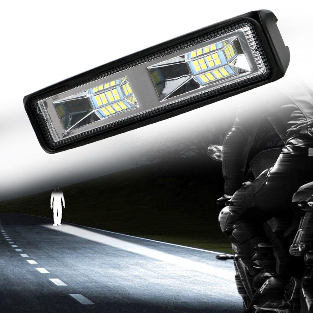 車 バイク トラック トラクター トレーラー オフロード 作業灯 36W スポット ライト 1個 LED ヘッドライト 12-24V 便利 アクセサリー_画像2
