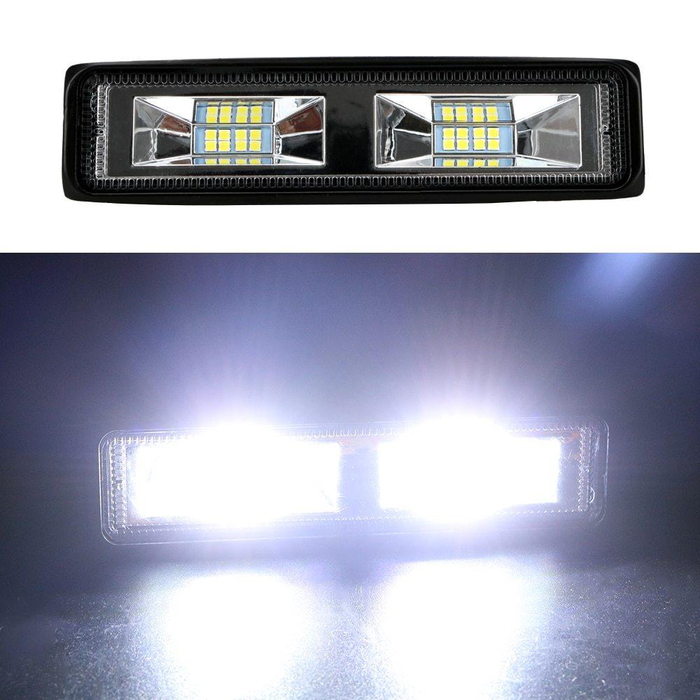 車 バイク トラック トラクター トレーラー オフロード 作業灯 36W スポット ライト 1個 LED ヘッドライト 12-24V 便利 アクセサリー_画像6