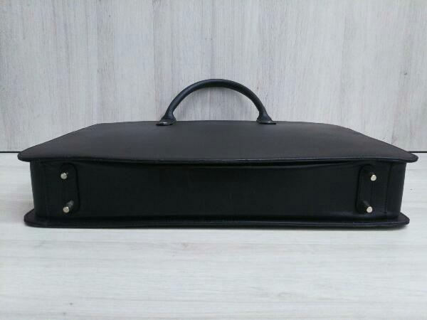 Dunhill ダンヒル 0608P レザー ブリーフケース ビジネスバッグ ブラック 黒 メンズ_画像3