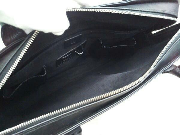 Dunhill ダンヒル 0608P レザー ブリーフケース ビジネスバッグ ブラック 黒 メンズ_画像4