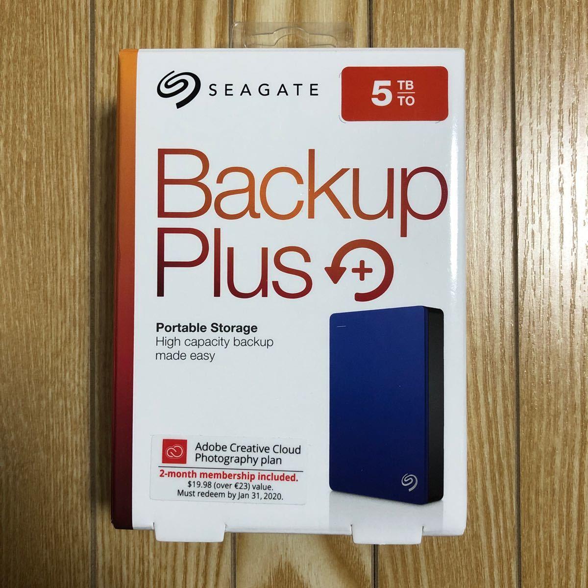 【即発送】Seagate Backup Plus USB3.0 5TB HDD STDR5000302