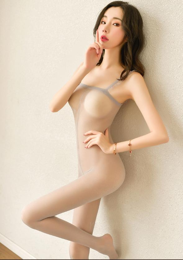 超セクシー エロ誘惑 ランジェリー 透け透け 全身タイツ オープンクロッチ ボディストッキング コスプレ衣装 ナイトウエア DYLB2038_画像5