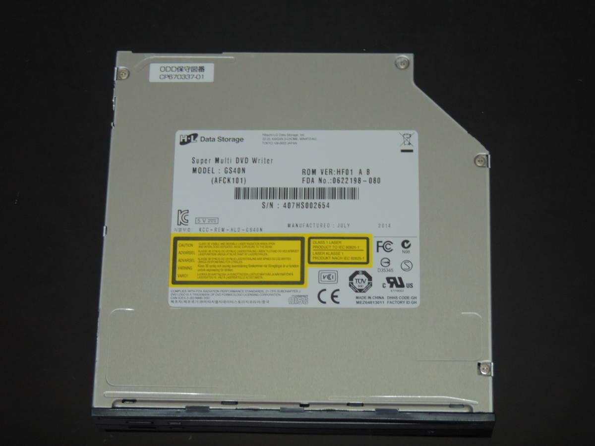 【検品済み】LG 内蔵DVDドライブ GS40N 管理:k-12_画像1