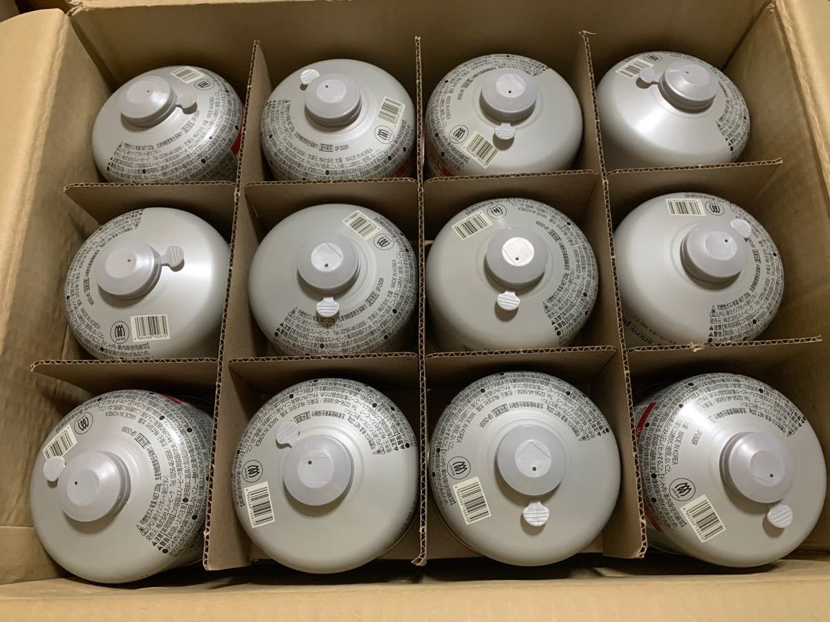 snow peak スノーピーク ギガパワーガス 250 イソ 新品 24缶 送料込み