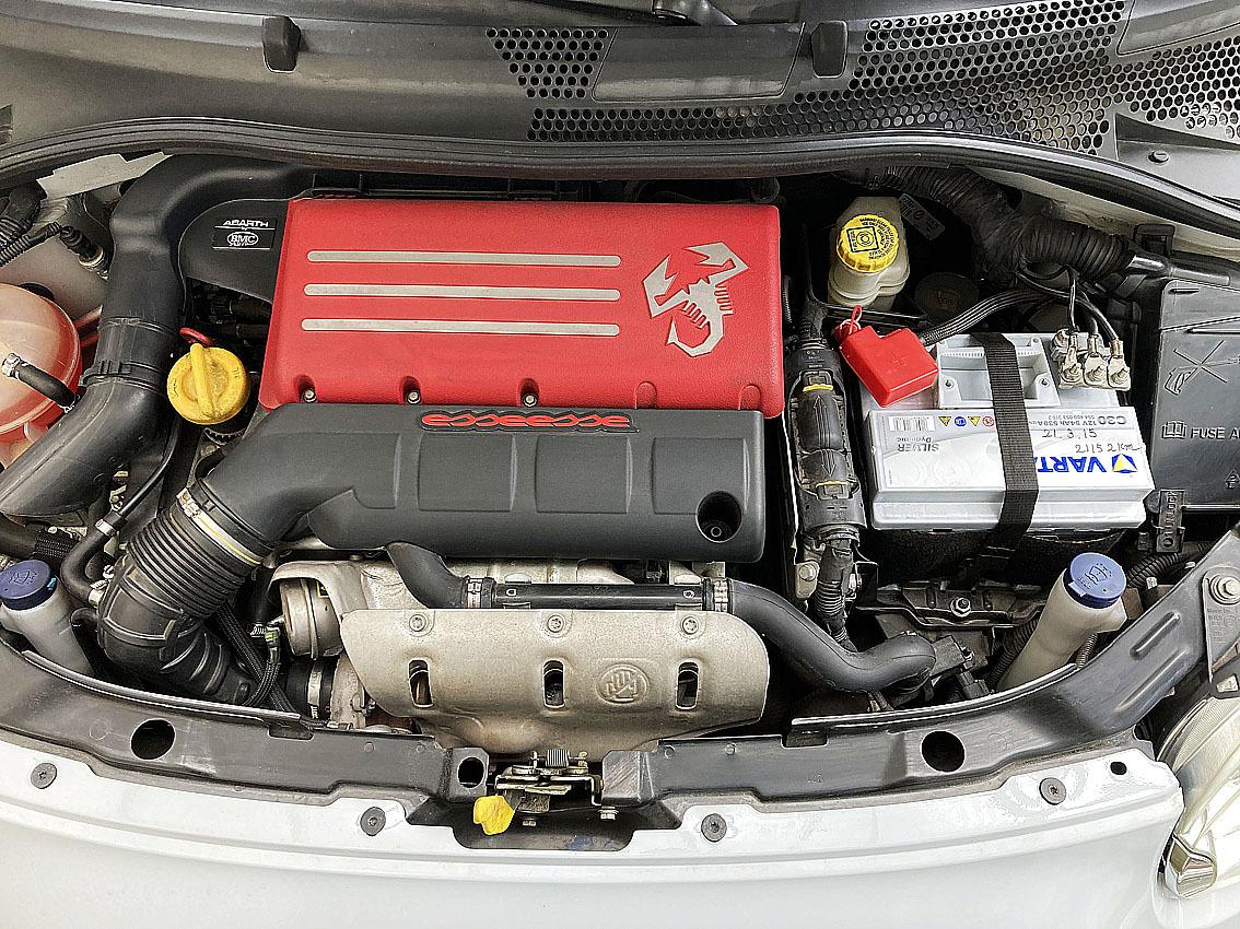 アバルト500|本国エッセエッセキット160HP仕様|レコモンマフラー|サベルトシート|アバルト17インチホイール|左H|低走行で程度良_画像6