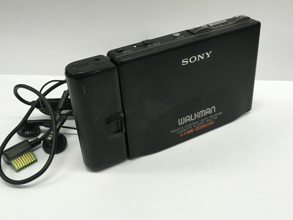 T229-I25-1961◎ SONY ソニー WALKMAN ウォークマン WM-702 ポータブル カセットプレーヤー ⑯