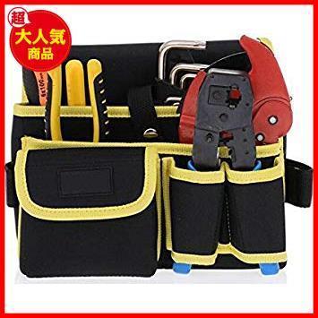 新品 電工用 工具差し 腰袋片側 工具袋 STAR E2346 ウエストバッグ ZMAYA ツールバッグ 工具袋-4YS18_画像5