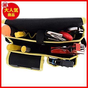 新品 電工用 工具差し 腰袋片側 工具袋 STAR E2346 ウエストバッグ ZMAYA ツールバッグ 工具袋-4YS18_画像6