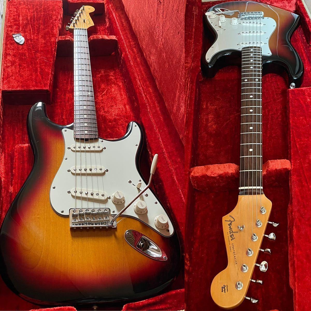 【軽量3.39kg】Fender USA American Vintage 62 Stratocaster 1999年 フェンダー ストラト