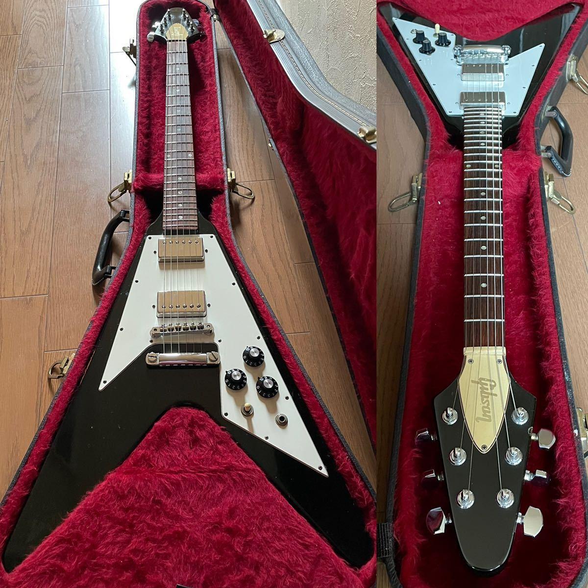 【Vintage】1975年製 Gibson Flying V オリジナルハードケース付き フライングV ビンテージギター