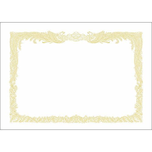 新品白色 A4 タカ印 賞状用紙 OA対応 10-1160 A4 縦書き 100枚 白9BK3_画像1