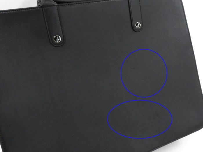 【中古】ダンヒル ビジネスバッグ ブリーフケース レザー ブラック_画像6