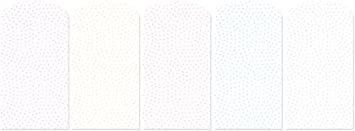 鮫小紋 【Amazon.co.jp 限定】和紙かわ澄 きら染め和紙 ミニぽち袋 豆サイズ4×5cm 5色25枚入 鮫_画像1
