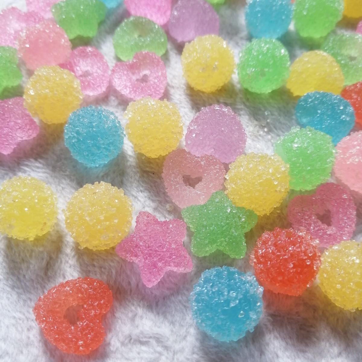 デコパーツ プラパーツ ハンドメイド 手作り 花台 材料 大量 パーツ 砂糖飴