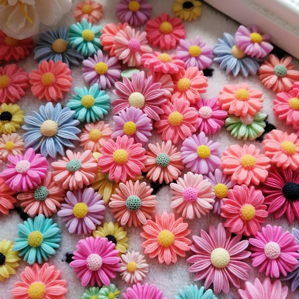 デコパーツ プラパーツ ハンドメイド 手作り 花台 材料 パーツ ひまわり 1