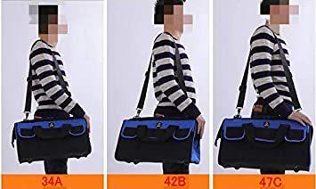大口工具袋-34A ZMAYA STAR 電工キャンバスバック ツールバッグ 電工用 工具差し 工具袋 大口収納 ウエストバッグ_画像8