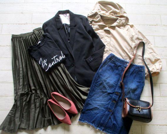 ●レディース GU ジーユー 福袋 まとめて まとめ売り 55点 セット 大量 洋服 古着 仕入れ ●69_画像1
