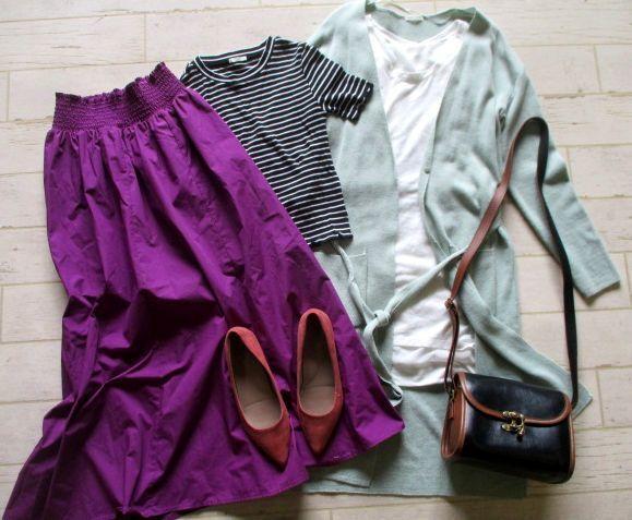 ●レディース GU ジーユー 福袋 まとめて まとめ売り 55点 セット 大量 洋服 古着 仕入れ ●69_画像2