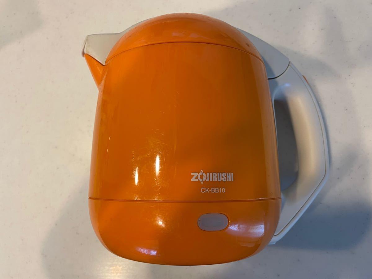 【最後のお値引きです】ZOJIRUSHI  電気ケトル 電気ポット 1リットル