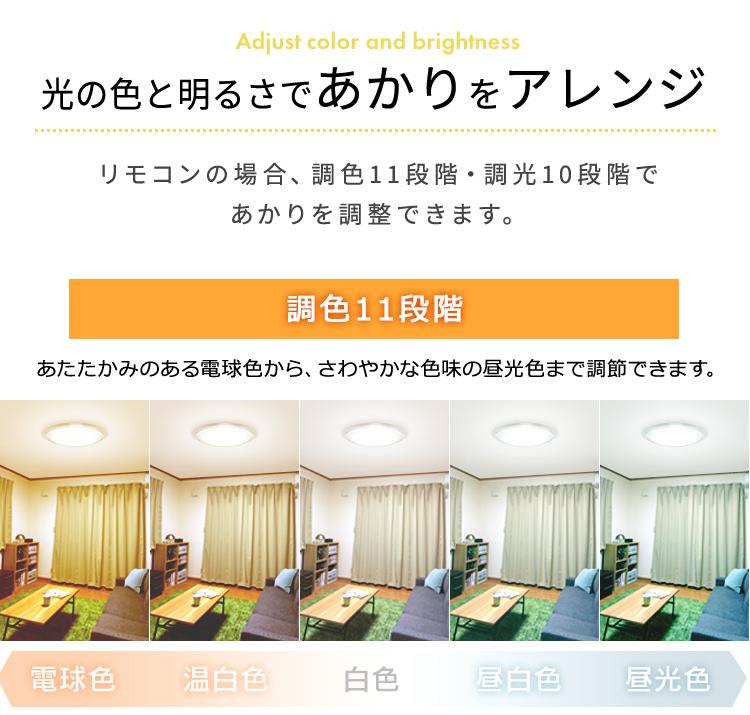 アイリスオーヤマ シーリングライト LED 照明 12畳 音声操作 CL12DL-5.11CFV 調光 調色 メタルサーキット _画像3
