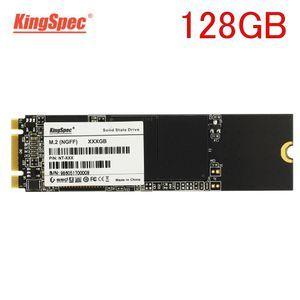 ★ 最安新品!◆ SSD KingSpec 128GB M.2 2280 SATA3 内蔵型 NT-128 高速 NGFF 新品未使用 3D NAND TLC (a1399)_画像1