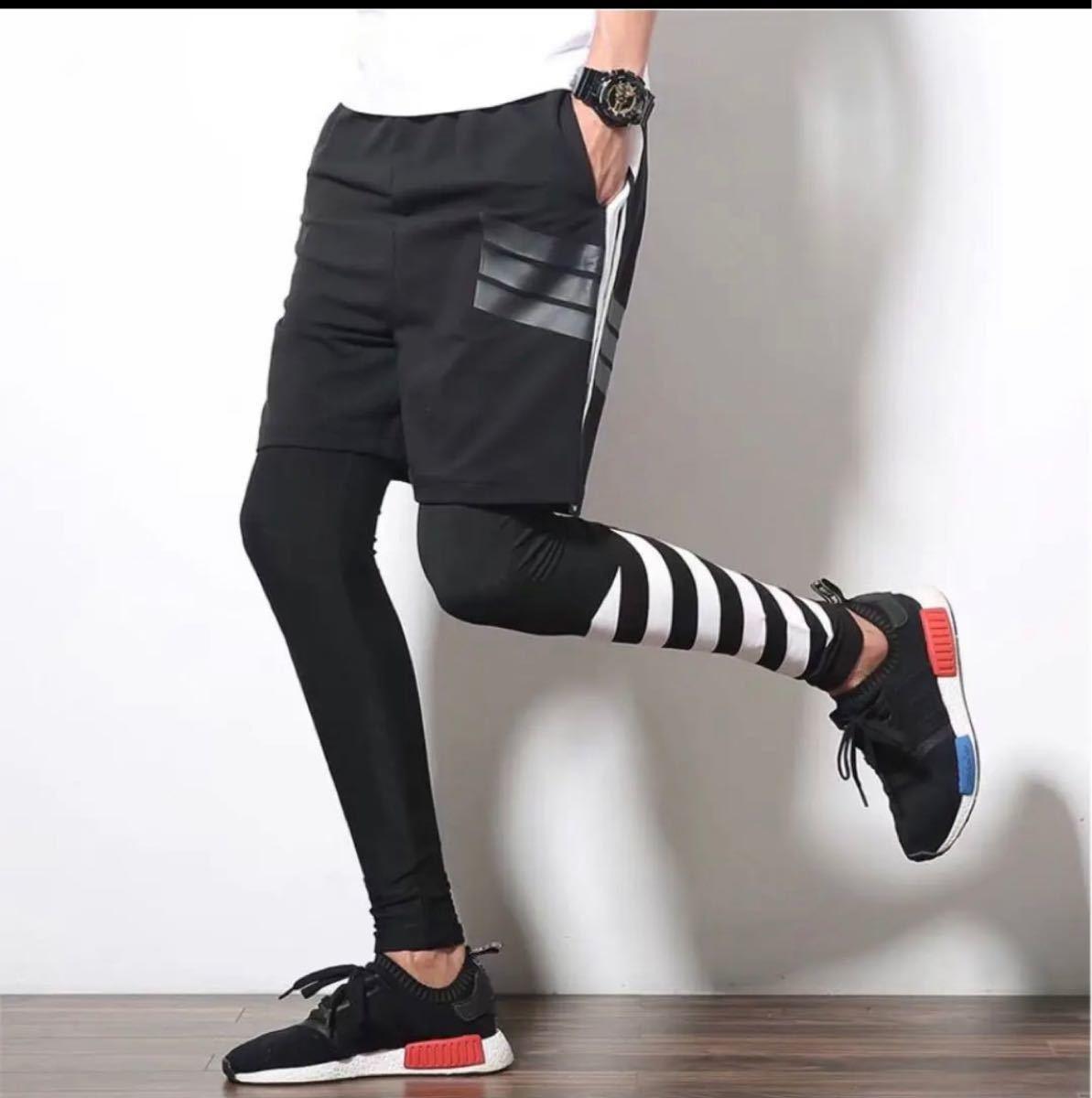 スポーツウェア ハーフパンツ ジョギング ランニングウェア ジム フットサル 筋トレ サイクリング 短パン フィットネス