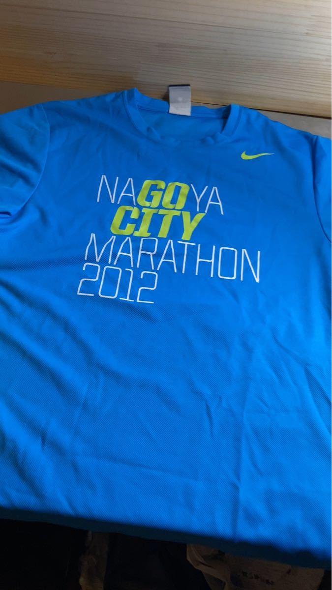 ナゴヤシティマラソン NIKE ランニングウェア 名古屋シティマラソン ウィメンズマラソン 参加記念 Tシャツ 非売品