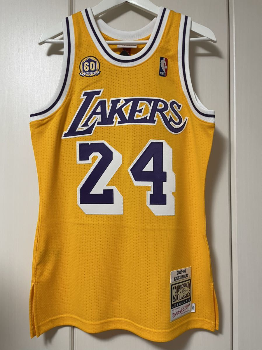 Mitchell & Ness Authentic Kobe Bryant Jersey #24 size 36 Small 正規購入 新品未使用 オーセンティック レイカーズ NBA _画像1