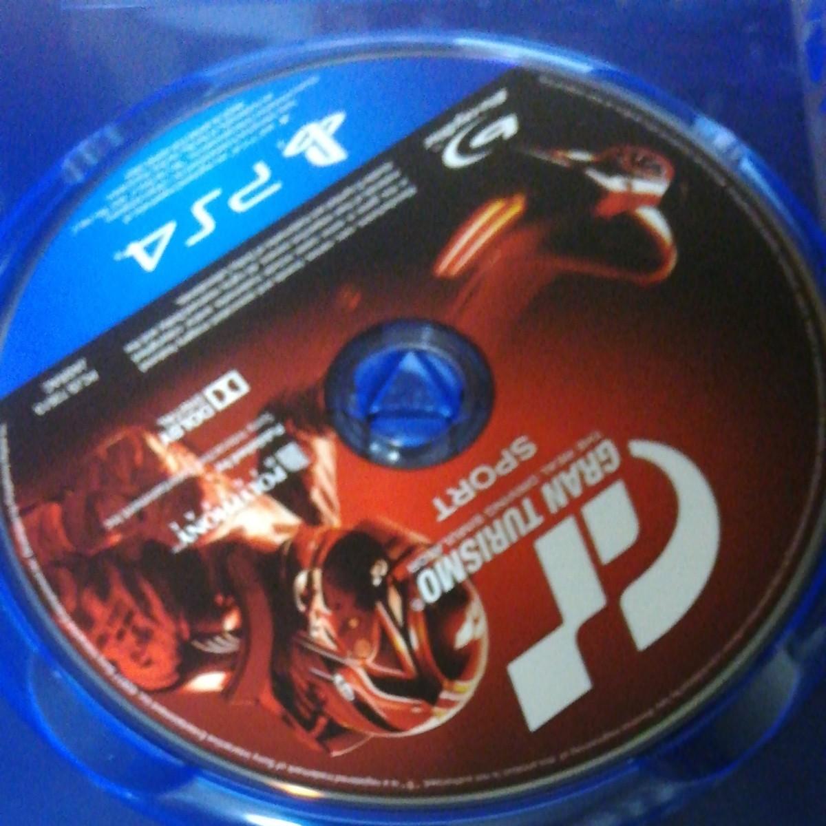 PS4ソフト GRAN TURISMO SPORT