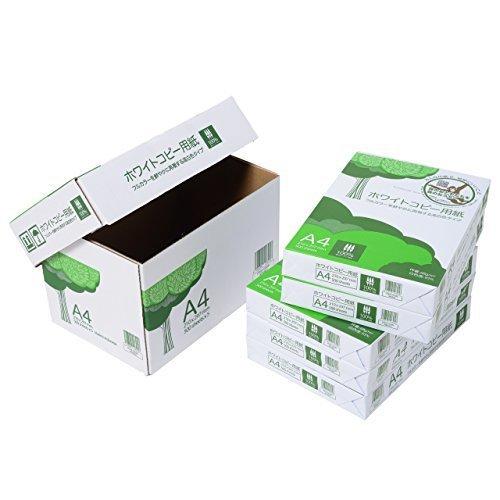 色白(ホワイト) サイズA4 コピー用紙 A4 ホワイトコピー用紙 高白色 紙厚0.09mm 2500枚(5005)_画像3