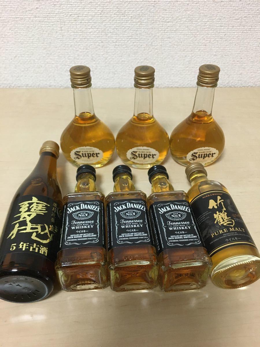 ウイスキーミニボトル7本 & 琉球泡盛1本 計8本セット☆彡