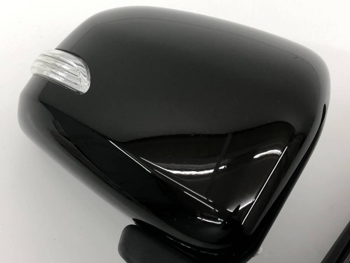 _b65824 ダイハツ タント カスタムRS CBA-L375S ドアミラー サイド 右 RH 運転席側 電動格納 ウインカー付き X10 L385S_画像4