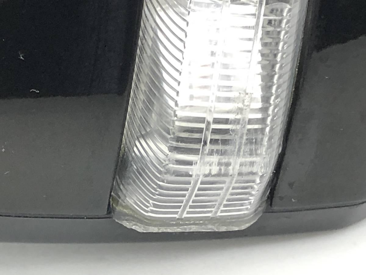 _b65824 ダイハツ タント カスタムRS CBA-L375S ドアミラー サイド 右 RH 運転席側 電動格納 ウインカー付き X10 L385S_画像8