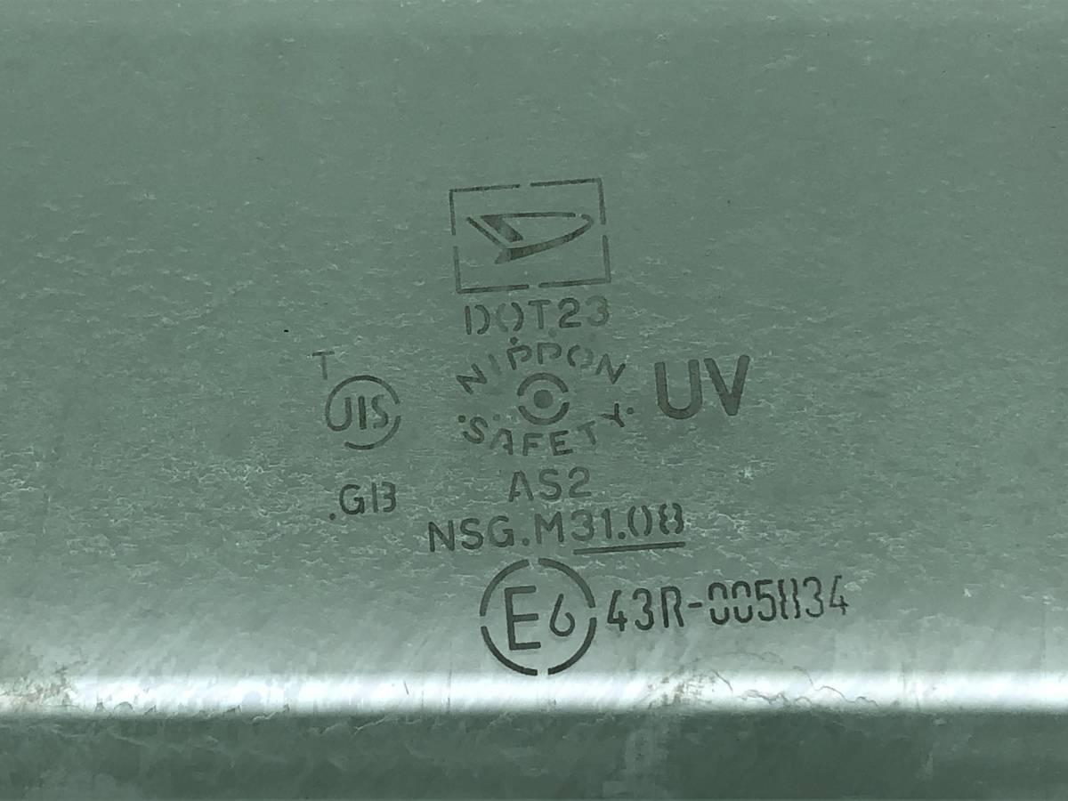 _b65824 ダイハツ タント カスタムRS CBA-L375S ドア ガラス ウィンドウ フロント 右 F/RH 運転席側 NSG M3108 L385S_画像3