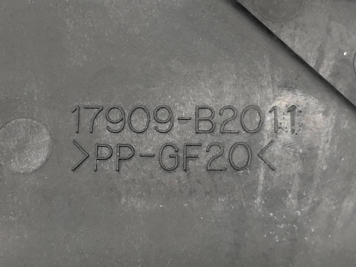 _b65824 ダイハツ タント カスタムRS CBA-L375S インタークーラー ダクト カバー KF-DET 17909-B2011 L385S_画像5
