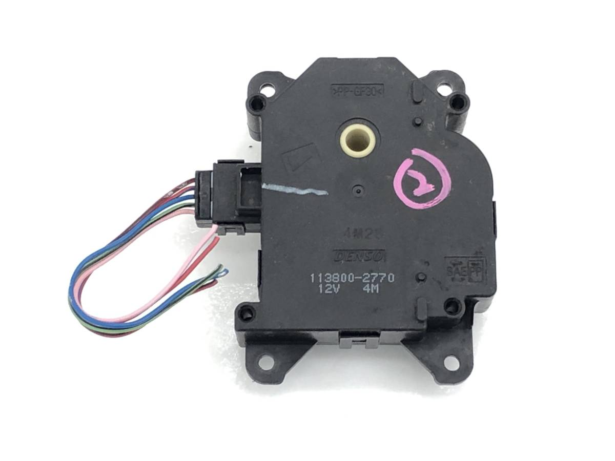 _b65824 ダイハツ タント カスタムRS CBA-L375S エアコンサーボ モーター (2) 113800-2720 L385S_画像1