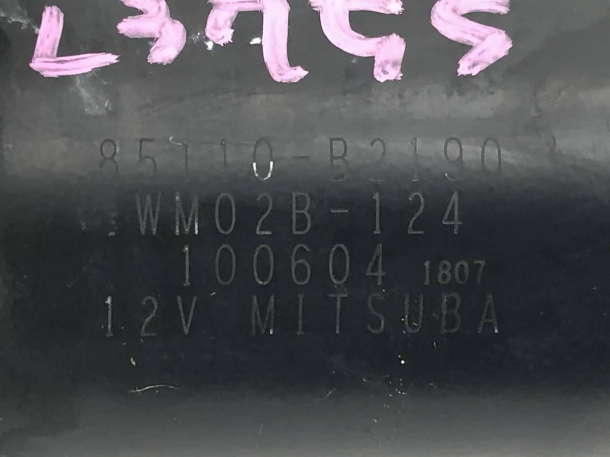 _b65824 ダイハツ タント カスタムRS CBA-L375S フロント ワイパーモーター リンク ロッド 85110-B2190 L385S_画像4