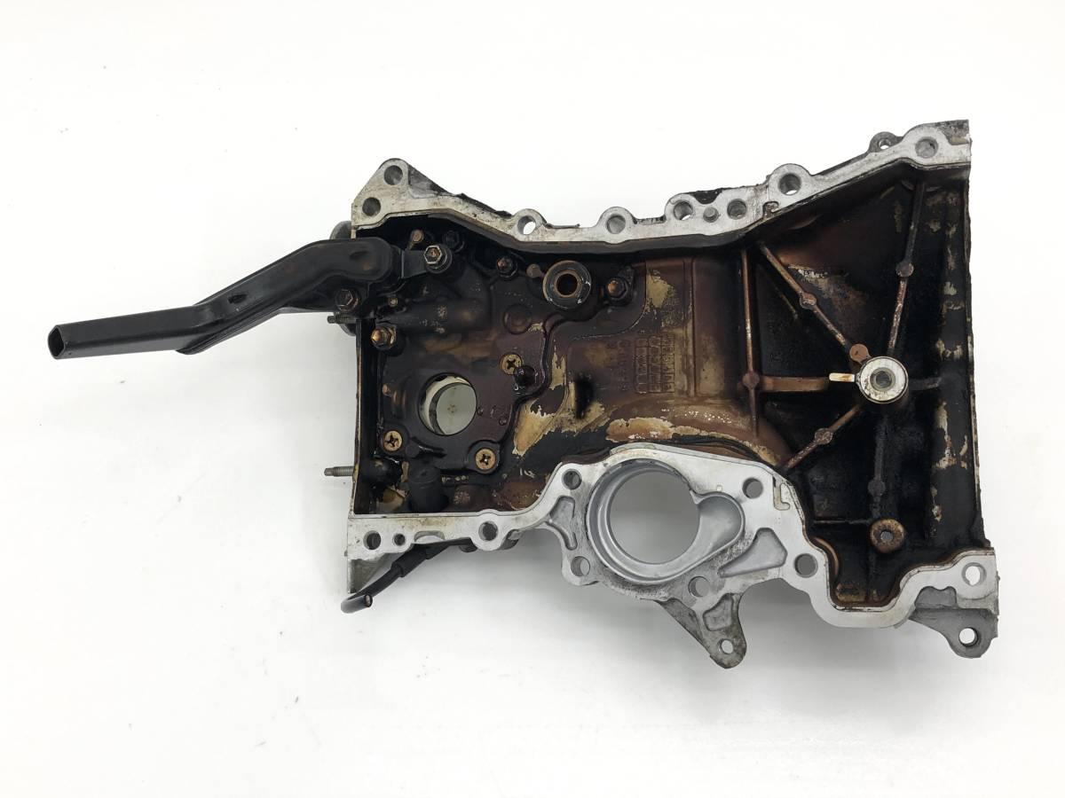 _b65824 ダイハツ タント カスタムRS CBA-L375S エンジン フロントカバー プーリー タイミング チェーン KF-DET L385S_画像5