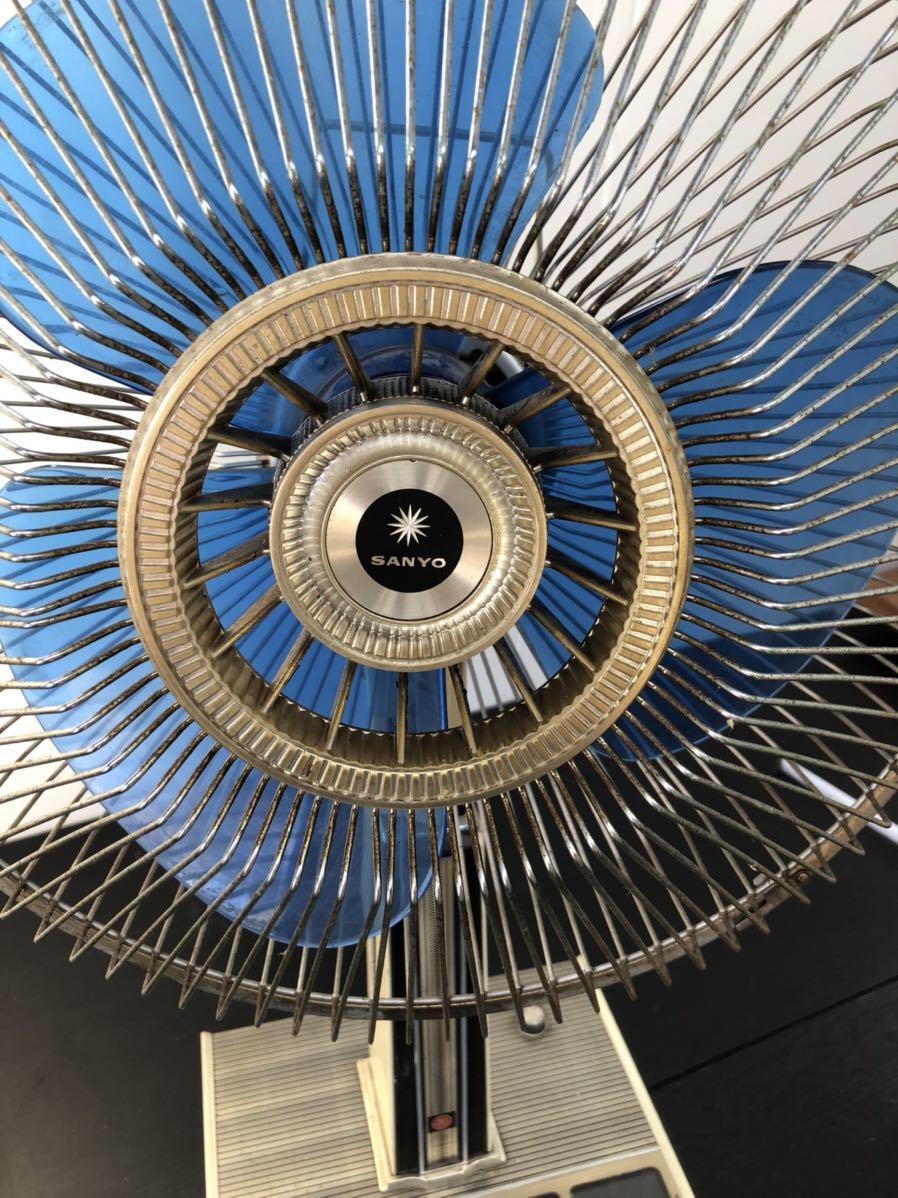 レトロ扇風機 SANYO サンヨー 扇風機 昭和レトロ_画像6