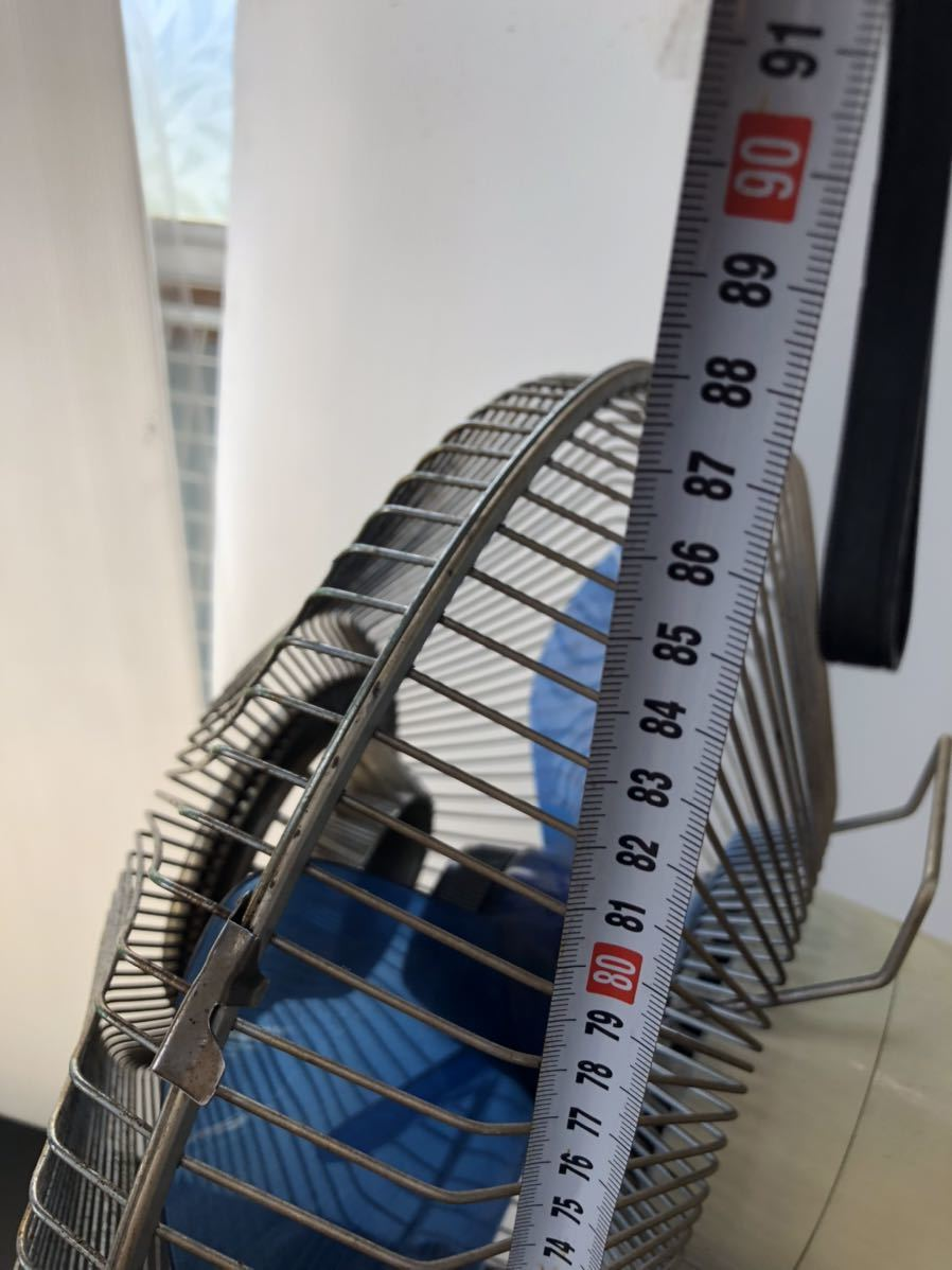 レトロ扇風機 SANYO サンヨー 扇風機 昭和レトロ_画像2