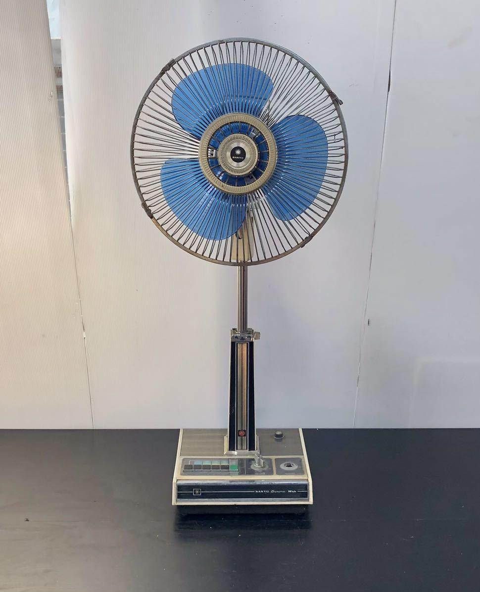 レトロ扇風機 SANYO サンヨー 扇風機 昭和レトロ_画像1
