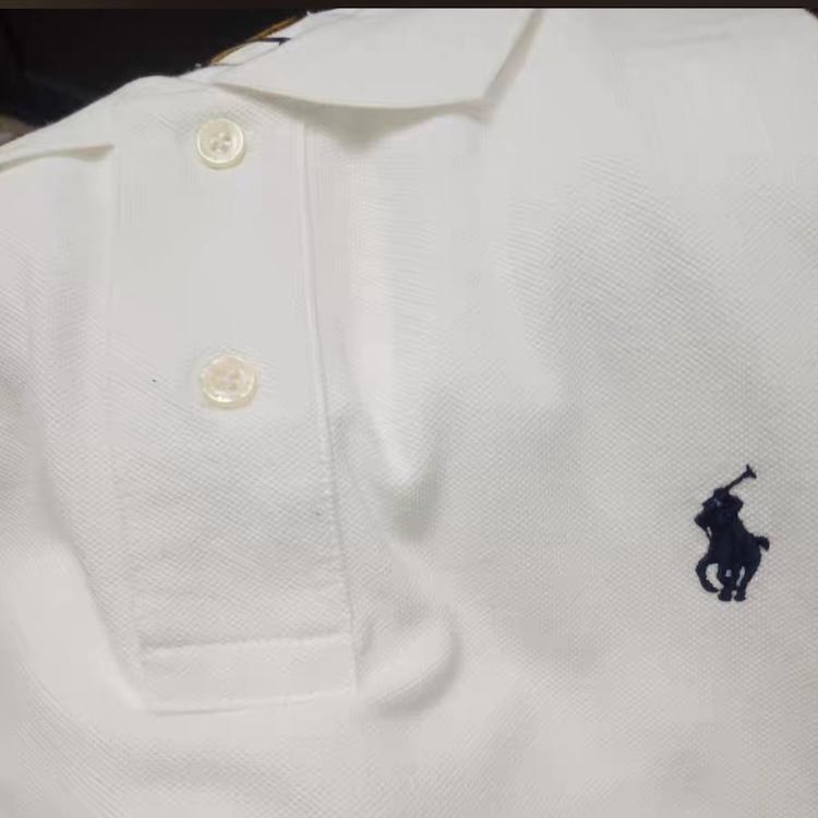 在庫処分!メンズポロシャツ POLO RALPH LAUREN ポロ ラルフローレン 定番 ワンポイント ポニー刺繍 トップス 半袖 綿 tシャツ ホワイト S_画像7