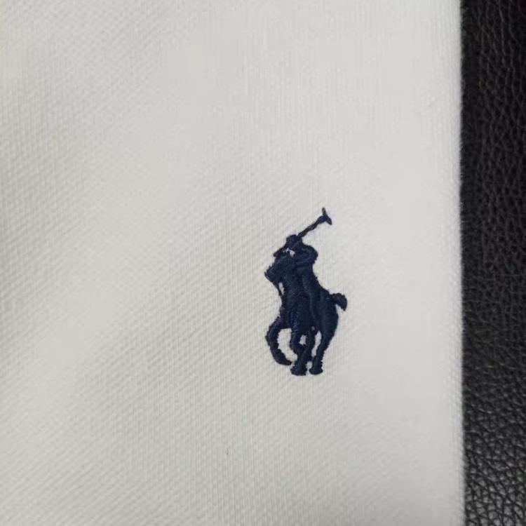 在庫処分!メンズポロシャツ POLO RALPH LAUREN ポロ ラルフローレン 定番 ワンポイント ポニー刺繍 トップス 半袖 綿 tシャツ ホワイト S_画像6