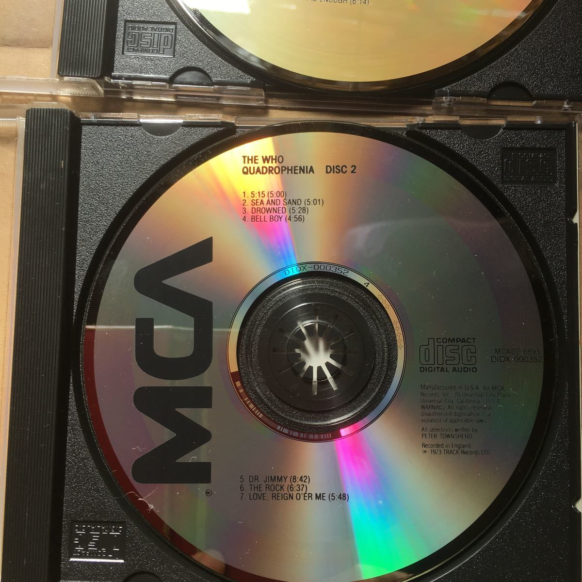 THE WHO 輸入盤 CD