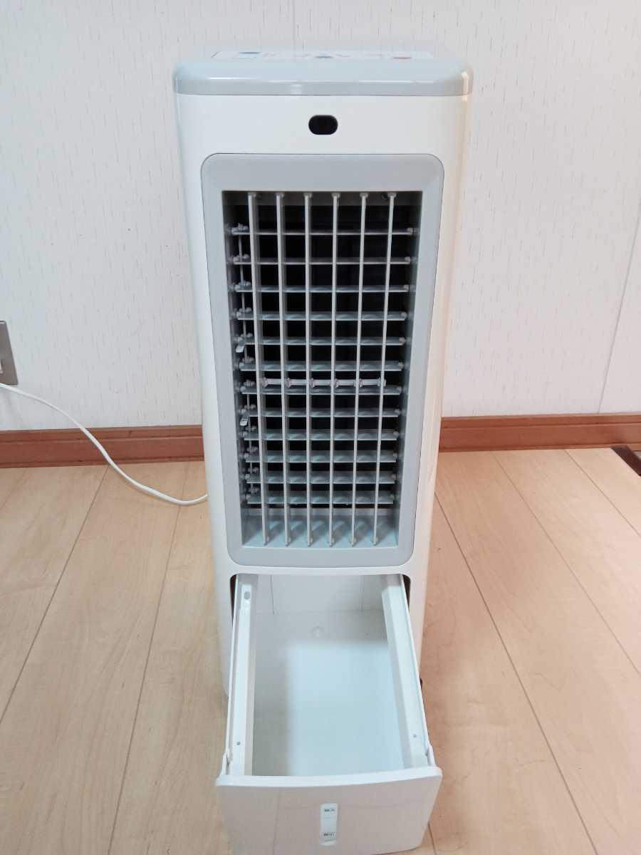 冷風扇 冷風機 涼しい 丸隆 KM-004 美品 リモコン付 2019年製 動作確認済み 取扱説明書あり   _ここに保冷剤と水を入れます。