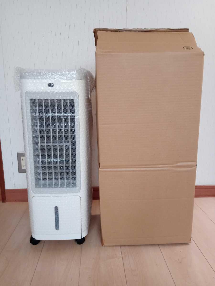 冷風扇 冷風機 涼しい 丸隆 KM-004 美品 リモコン付 2019年製 動作確認済み 取扱説明書あり   _プチプチで梱包し段ボール箱で発送します