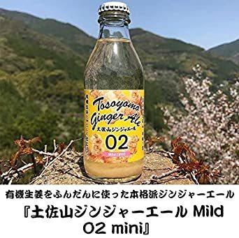 6本 5種MIX 土佐山ジンジャーエール 5種類 飲み比べ MIX ( 土佐山ジンジャーエール 01/02/辛口/マイルド & _画像3